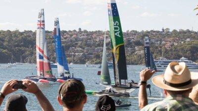 Inaugural Sail GP, Sydney Australia